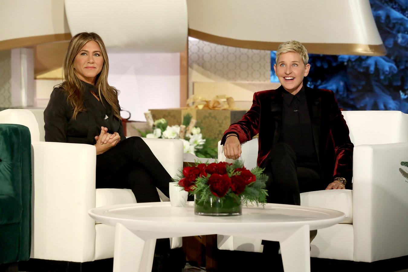 Jennifer Aniston is maar één van de talloze vedetten die langskwamen in 'The Ellen DeGeneres Show'.