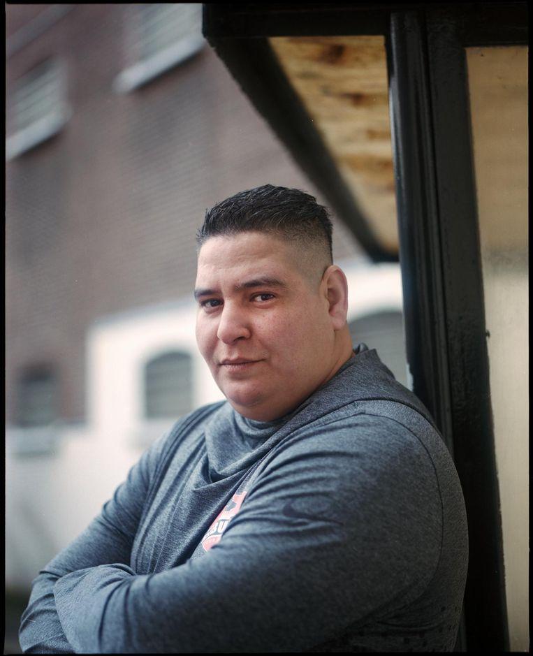 Nabil: 'Mijn eigen huis is de kers op de taart' Beeld Marc Driessen