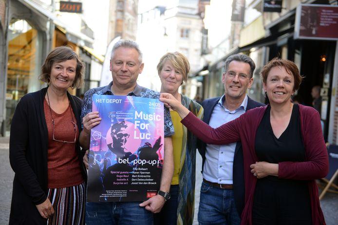 'Music For Luc' was de voorbije twee jaar een groot succes. Vorig jaar werd er 21.500 euro ingezameld voor Zorgcirkels Jongdementie.