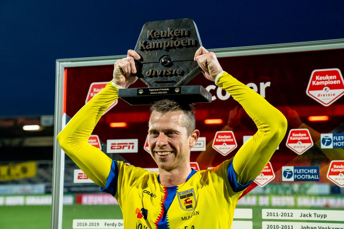 Ongekend: Robert Mühren scoorde in 37 competitiewedstrijden 38 keer.