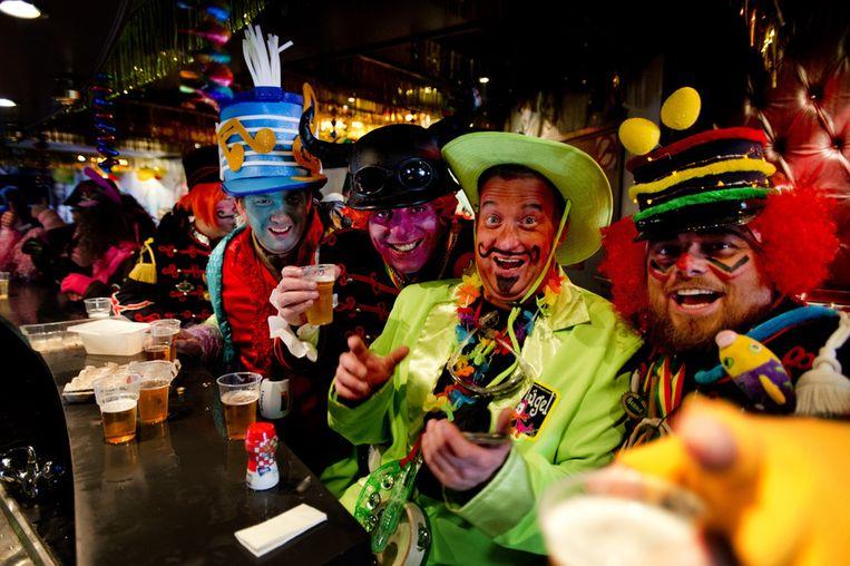 Venlonaren vieren carnaval in 2013. Beeld anp