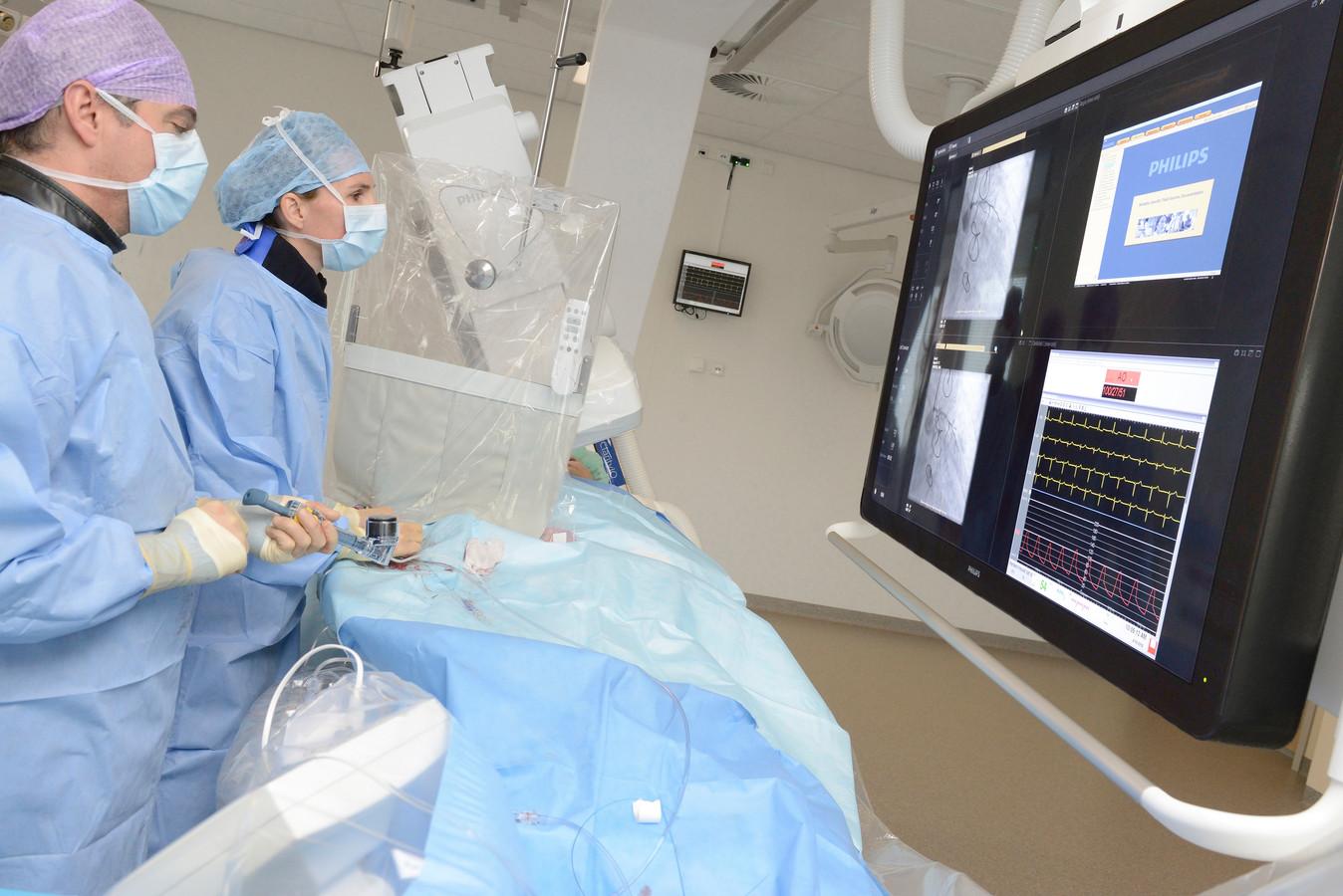 Dotterbehandeling in het Catharina Ziekenhuis.