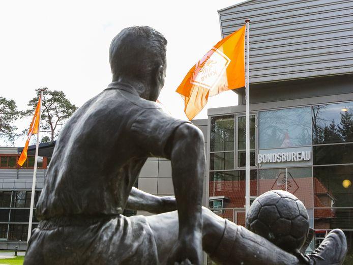 Het bondsbureau van de KNVB.