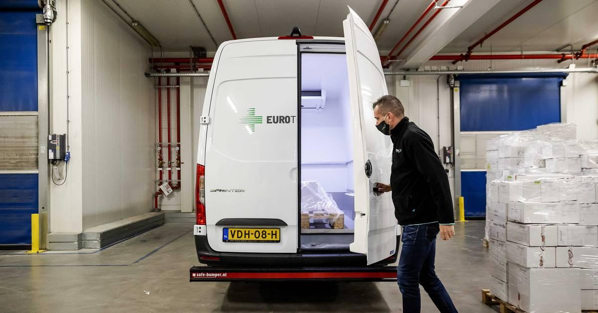 Nieuwe regels voor transport coronavaccins: 'Vervoer delicaat vaccin is géén broodje kroket' - AD.nl