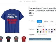 'Achterhoekse' webshop verkoopt T-shirt dat aanzet tot ophangen van journalisten