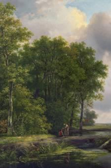 Voor prikje geveild schilderij blijkt  werk van Haagse schilder Schelfhout