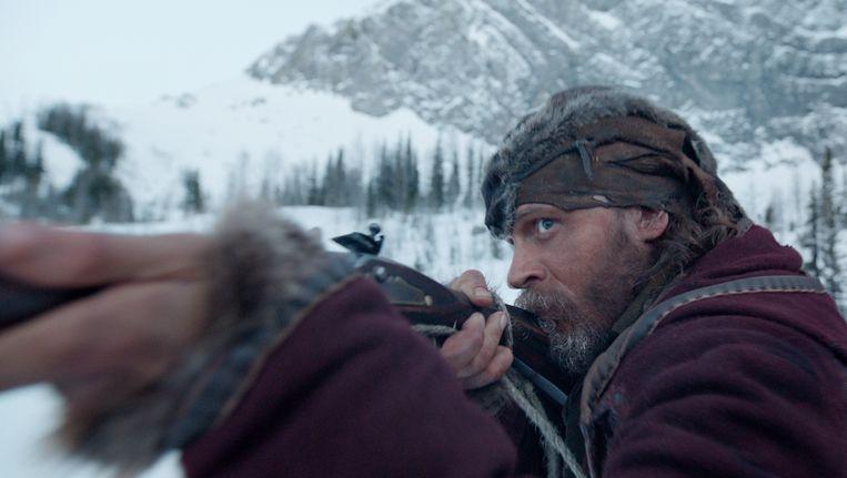 Tom Hardy in 'The Revenant'. Beeld AP