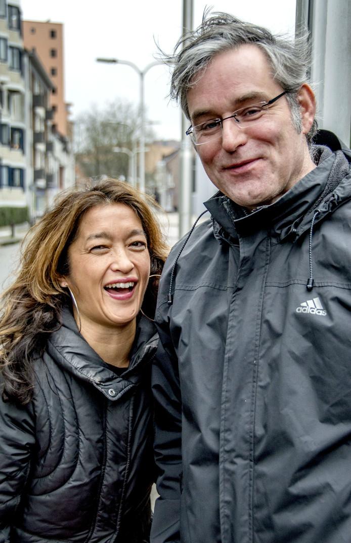 Esther Croes en Tom Pijnenburg.