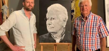 Gerard Cox hoeft schilderij van Arne uit Apeldoorn niet: 'Het is te echt, een foto heb ik al'
