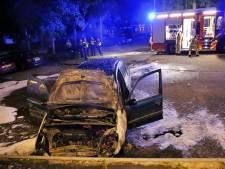 Auto uitgebrand bij appartementencomplex in Bladel