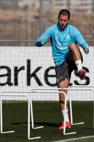 """Eden Hazard verschijnt op het trainingsveld bij Real Madrid, Zidane: """"Hij voelt zich veel beter"""""""