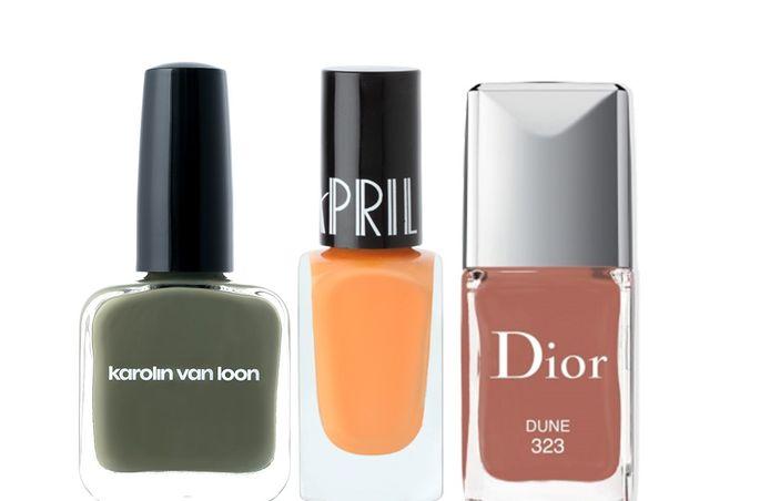 Les Couleurs de la Terre de Karolin Van Loon - 20 euros. Disponible chez Beauty by Kroonen. Pumpkin d'Apris - 4,95 euros. Disponible chez Planet Parfum. Dune de Dior - 28 euros.