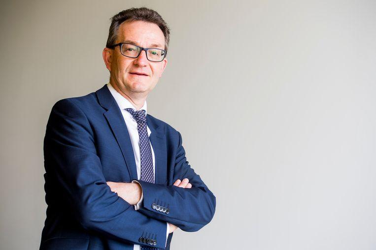 Lieven Boeve, topman van Katholiek Onderwijs Vlaanderen, heeft grote moeite met de uitwijzing van drie Albanese basisschoolleerlingen. Beeld BELGA