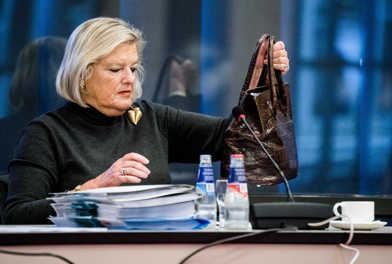 Staatssecretaris Ankie Broekers-Knol (Justitie en Veiligheid). Beeld ANP