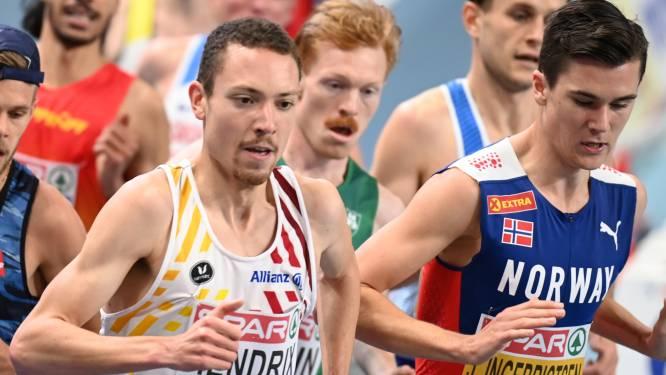 Robin Hendrix combineert studies bouwkunde met een  voorbereiding op de 5.000m van de Spelen