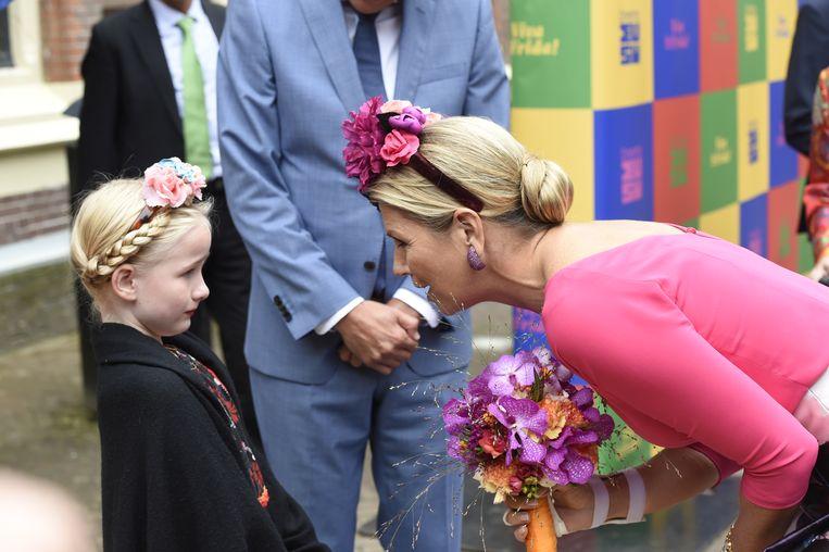 Koningin Máxima Beeld BrunoPress/Patrick van Emst