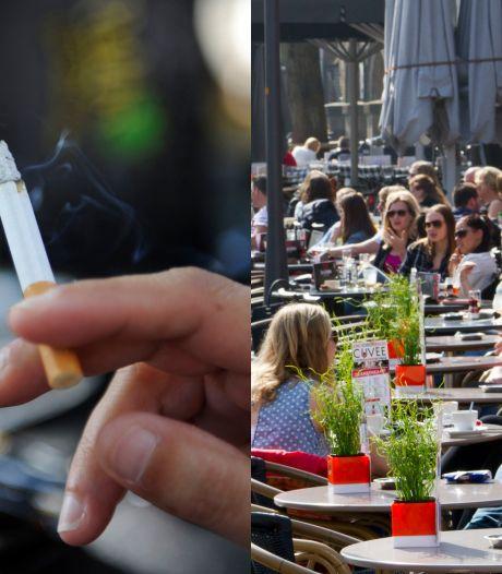 Ergernis om paffen op het terras in Twente? 'Ik heb geen zin in gezeur'