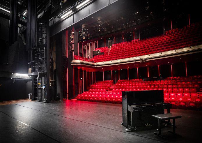 Theaters, musea en andere culturele instellingen krijgen extra steun van de gemeente Vijfheerenlanden. Foto ter illustratie: het lege DeLaMar theater in Amsterdam.