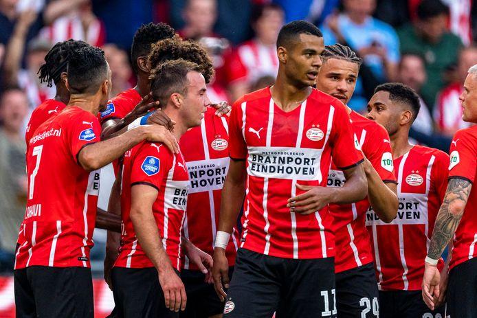 PSV vierde deze week een 3-0 zege in het Philips Stadion.