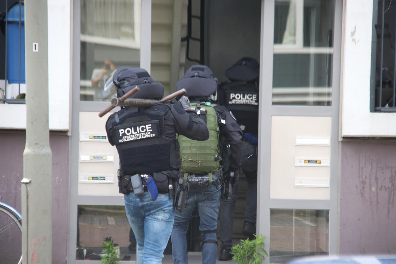 Een arrestatieteam. Foto ter illustratie.