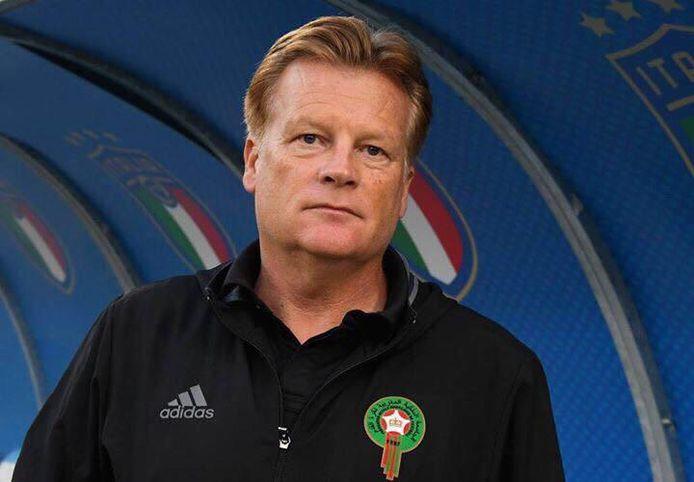 Mark Wotte als coach van Marokko Onder 23.