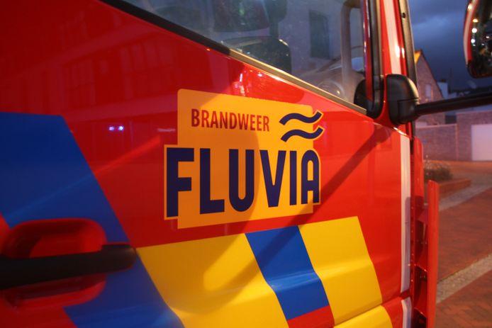 De brandweer van de zone Fluvia snelde ter plaatse.