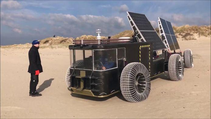 Strandtest in Nederland
