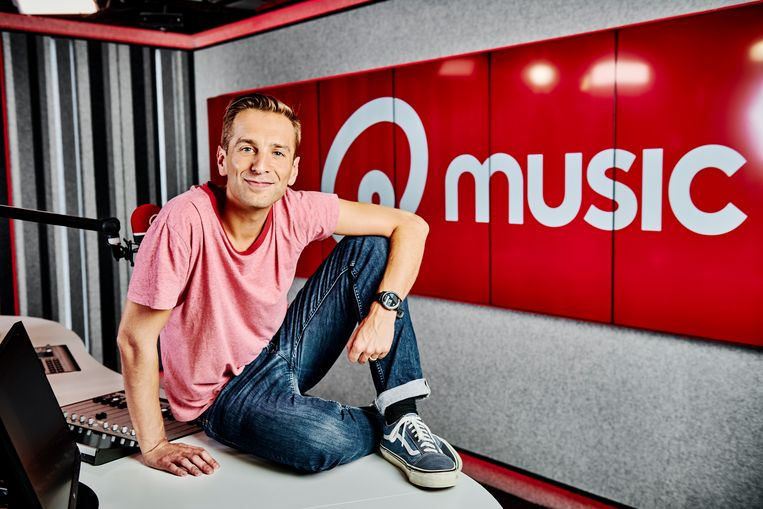 Qmusic; portret 2019. Op de foto: Sam De Bruyn Beeld VTM