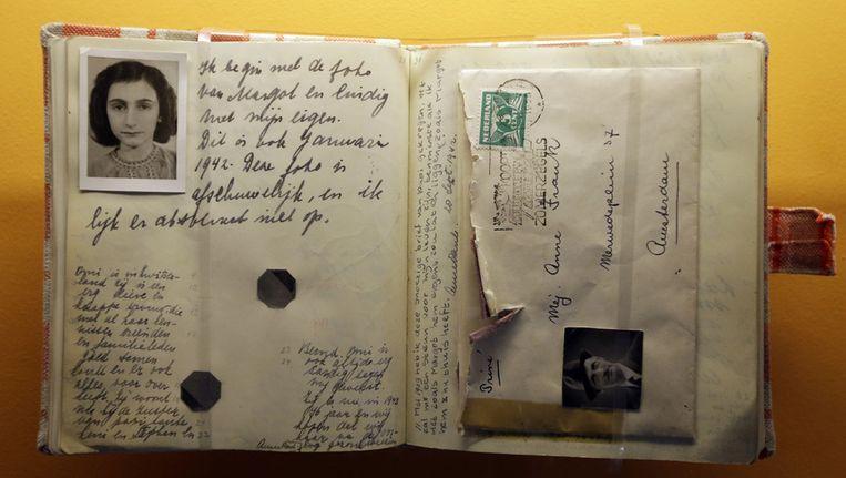 Het dagboek van Anne Frank, één van de vijftig vensters uit de officiële canon. Beeld ap