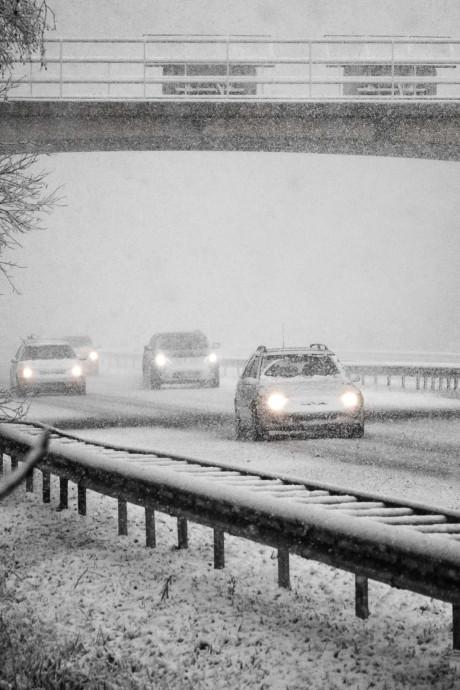 Rijkswaterstaat: morgenavond gaat het sneeuwen