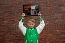 Lodewijk Schoenmaker (10) en De Schreeuw van Edvard Munch.