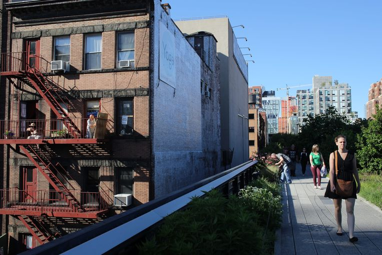 Park The High Line in New York. Beeld Tim Clayton / Getty