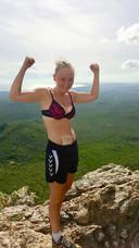 Kelly Beckers blijft positief, ondanks haar ziekte.