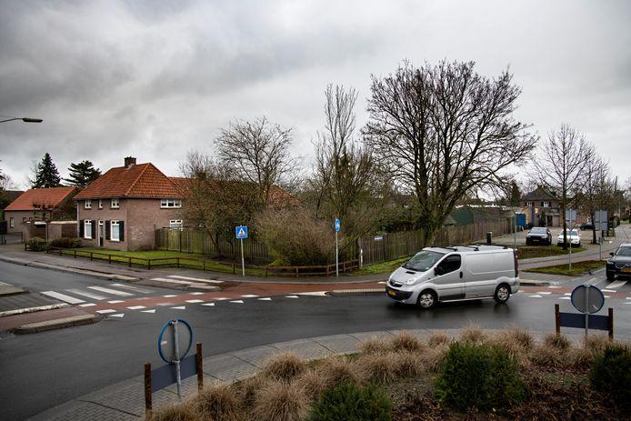 Bloemenzaak Van Deursen waar de Aldi zou moeten komen.