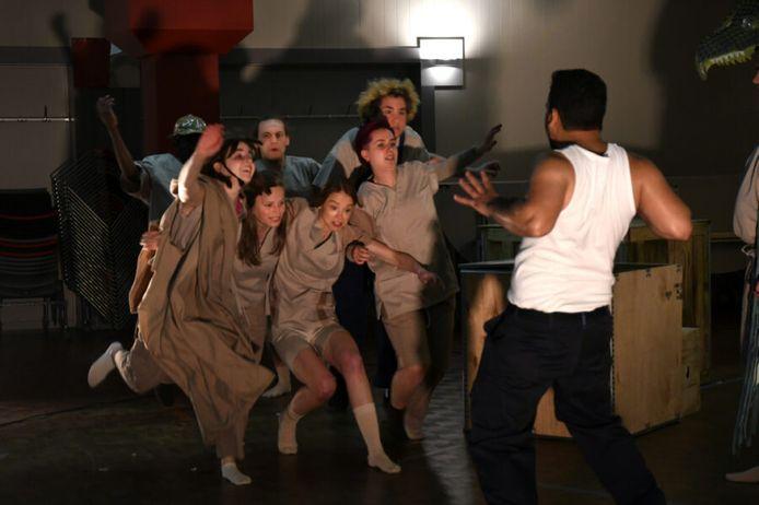 Het jongerengezelschap Giovani Fratelli van Tutti Fratelli palmt het tweede festivalweekend in.