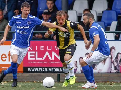 GVVV start te laat tegen Jong Vitesse