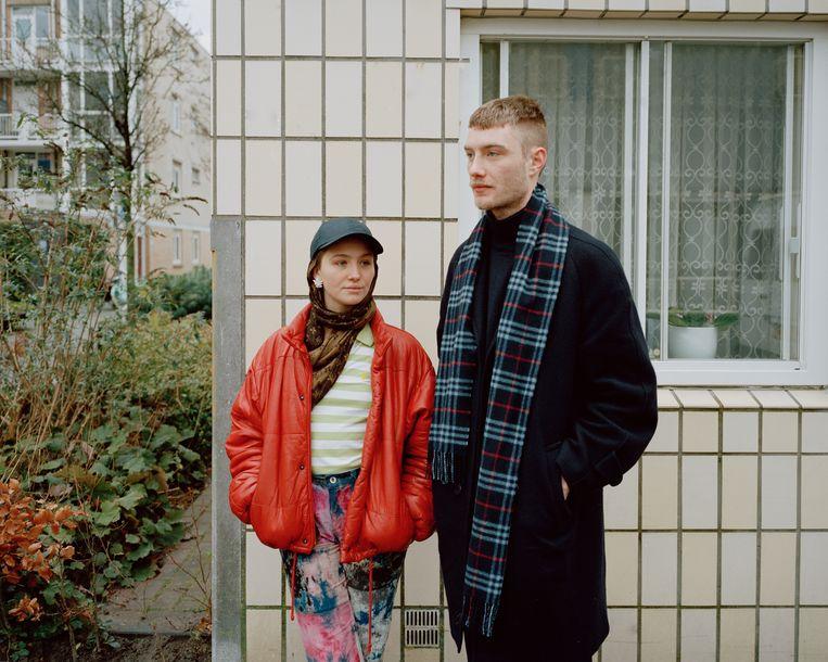 Leyla de Muynck en Vincent Boy Kars. Beeld Zahra Reijs