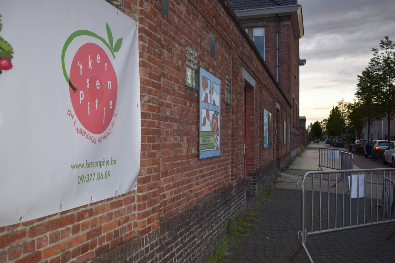 Vrije kleuterschool 't Kersenpitje in Waarschoot.