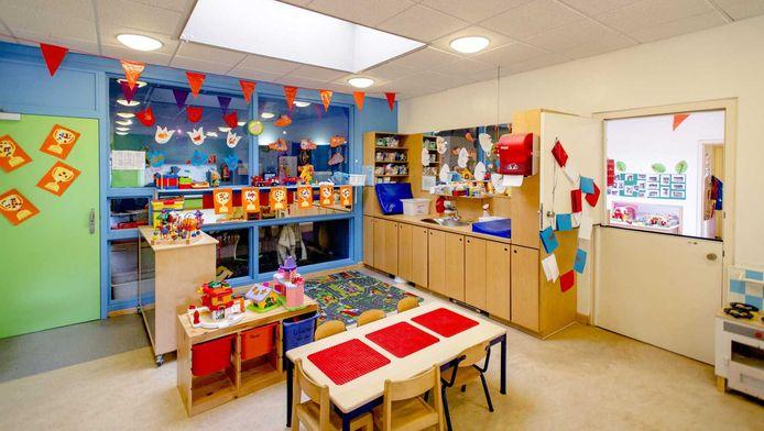 Interieur van een kinderdagverblijf van de failliet verklaarde kinderopvangorganisatie Estro.