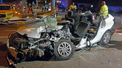 Frontaal tegen truck: autobestuurder even in levensgevaar