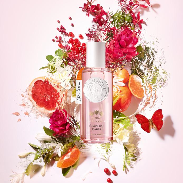 Extrait de Cologne Gingembre Exquis - 100ml - 59,95 euros en parfumeries et pharmacies.