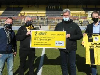 Supportersverbond Lierse schenkt opbrengst stickerverkoop aan Heilig-Hartziekenhuis