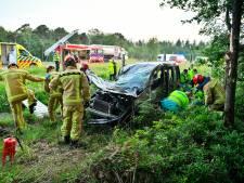 Vrouw gewond bij ongeluk op de A67 bij Eersel