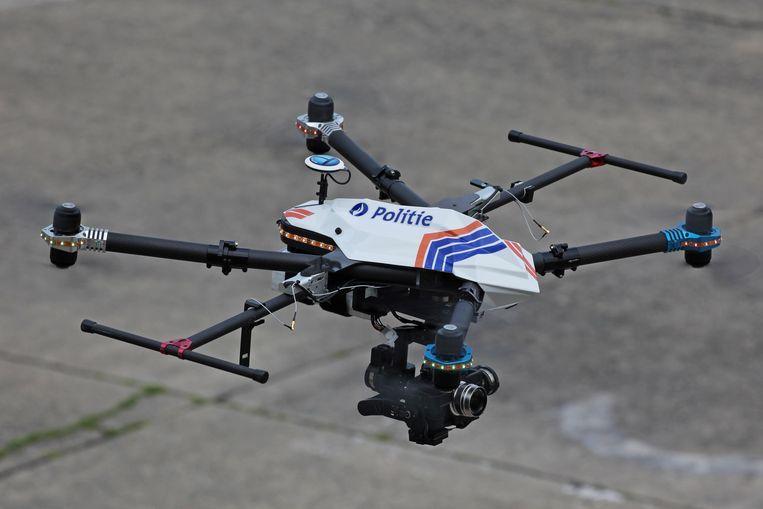Politiedrone. Beeld Photo News
