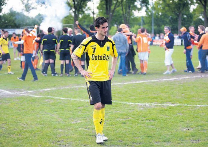 Degradatie Halsteren na finale tegen Moerse Boys in 2013 (2-3 thuis, 1-1 uit)