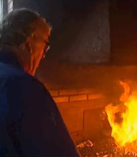 Vuur in Eemnesser dorpssmid Jaap Eek (1934-2018) doofde nooit
