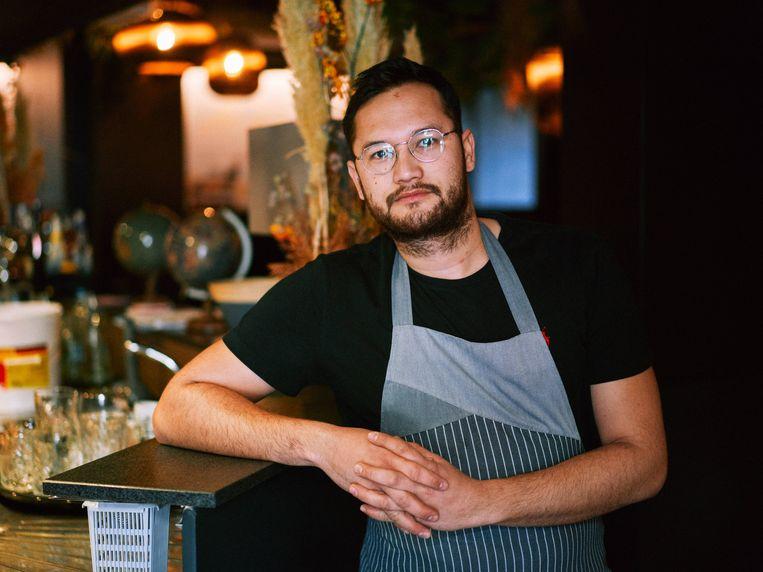 Rudy Junior Annaert van Brasserie Bar Proef. Beeld Thomas Sweertvaegher