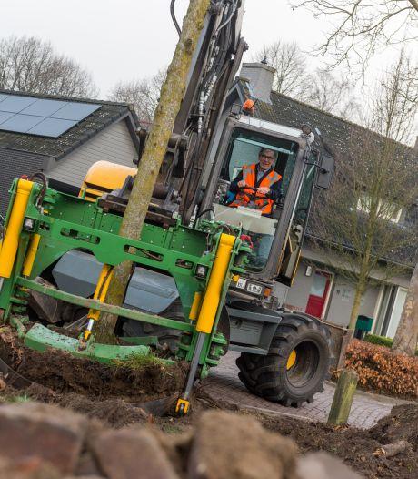 Werk aan riool in Hoogeloon helpt tegen wateroverlast
