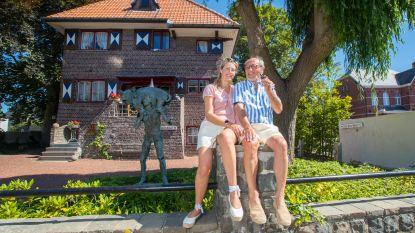 """Schilder Martin en zijn muze Bianca geven rondleiding in Villa Ter Ide: """"De perfecte combinatie tussen jong en oud, zoals haar bewoners"""""""