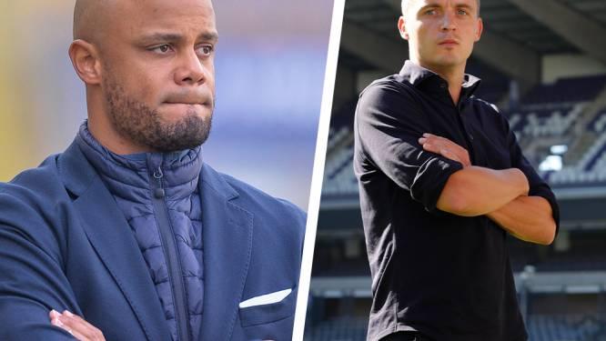 """Kompany houdt voetjes op de grond, sportief manager Verbeke is ambitieus: """"Vol voor tweede plaats. Wij zijn Anderlecht"""""""